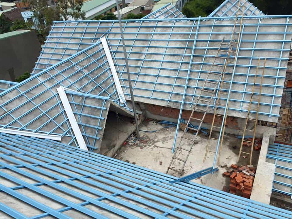 Khung kèo thép lợp ngói tại Đồng Nai – Phú Thịnh Building