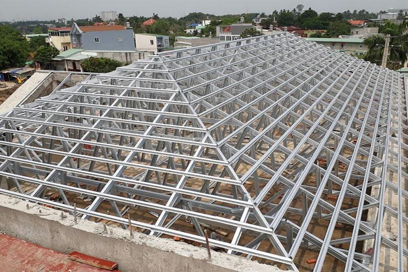 Cấu trúc mái nhà bao gồm những gì