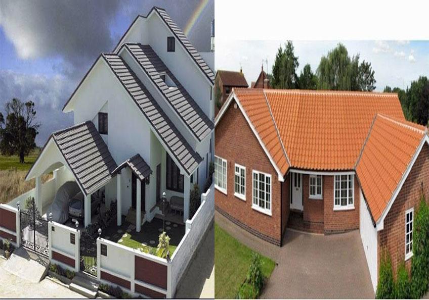 So sánh mái ngói truyền thống và mái ngói hiện đại