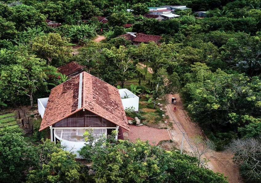 Chiêm ngưỡng vẻ đẹp ngôi nhà cấp 4 bằng khung thép ở Đắk Lắk