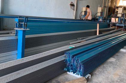 Công ty chuyên sản xuất vàthi công Khung Kèo Thép mạ lợp mái ngói