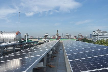 Khung thép mạ hợp kim PT-TRUSS cho hệ giá đỡ Pin năng Lượng Mặt Trời