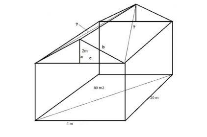 Cách tính diện tích mái ngói -Thi công hệ khung kèo lợp ngói