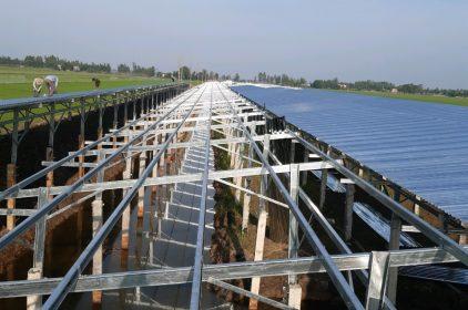 Công trình Trang Trại Hỗ 3H- Điện Năng Lượng Mặt trời- Tam Nông Đồng Tháp